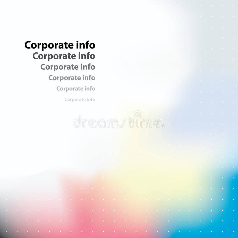 Corporate card. Vector. royalty free illustration