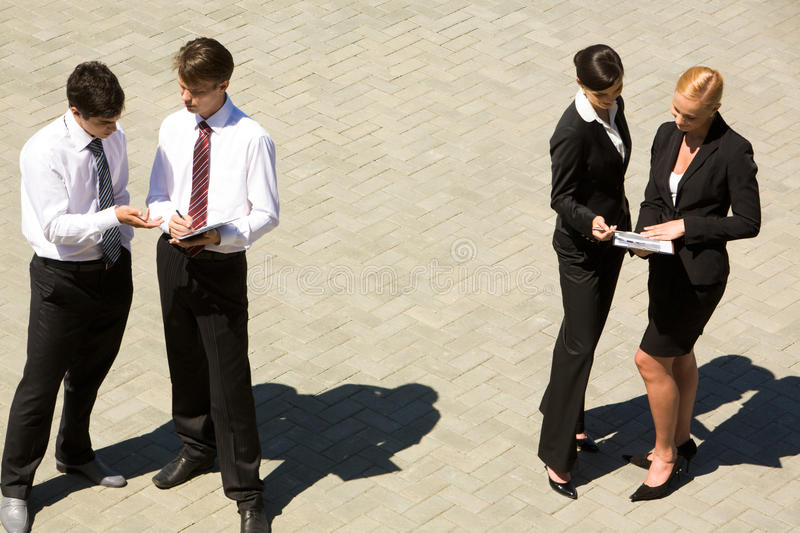Download Corporate communication stock image. Image of people - 10411127