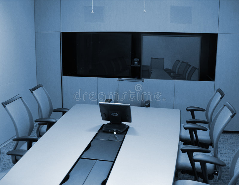 Corporate Conference Room royalty free stock photography