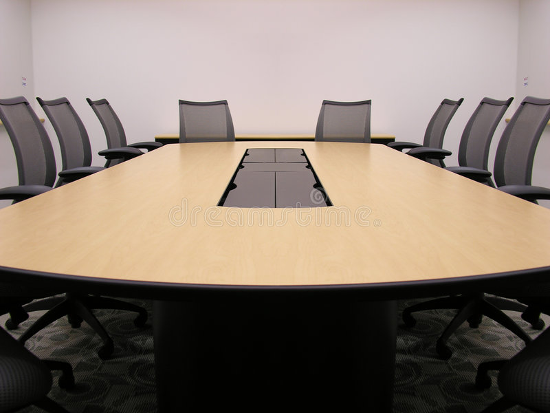 Corporate Conference Room stock photos