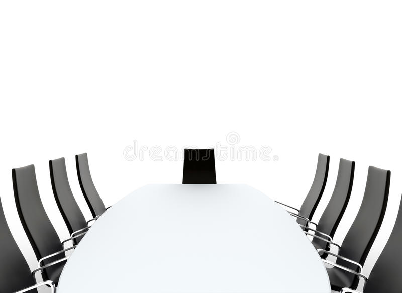 Corporate Conference Room stock photography