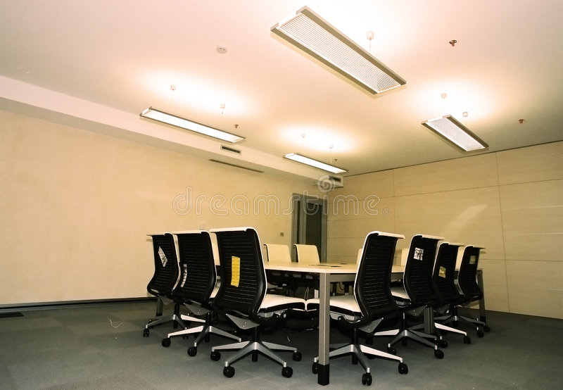 Download Corporate Conference Room II Stock Image - Image: 989017