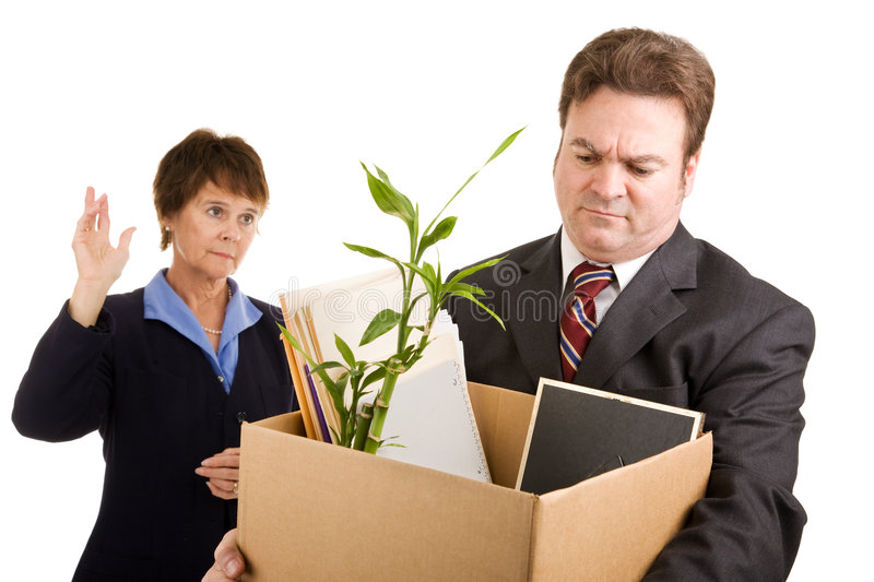 Download Corporate Downsizing stock photo. Image of serious, mature - 7267086