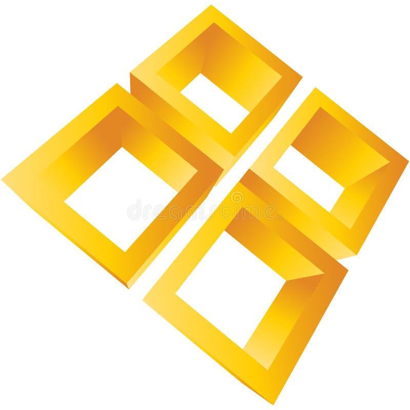Corporate element vector illustration