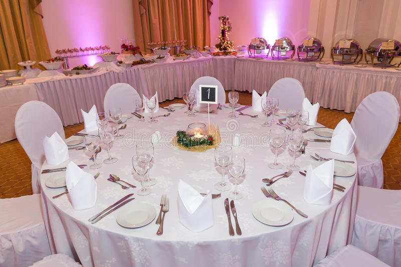 corporate events or wedding table arrangement stock photo image of