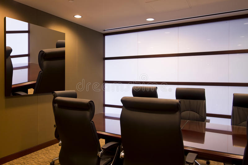 Download Corporate Executive Office Conference Room Stock Image