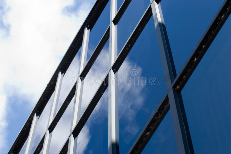 Corporate facade royalty free stock image