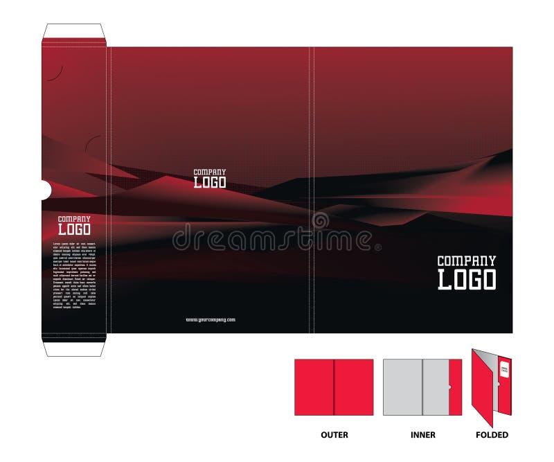 Download Corporate Folder stock vector. Illustration of folder - 6910898