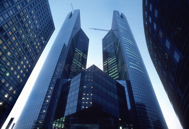 Corporate Headquarters Buildin stock photo
