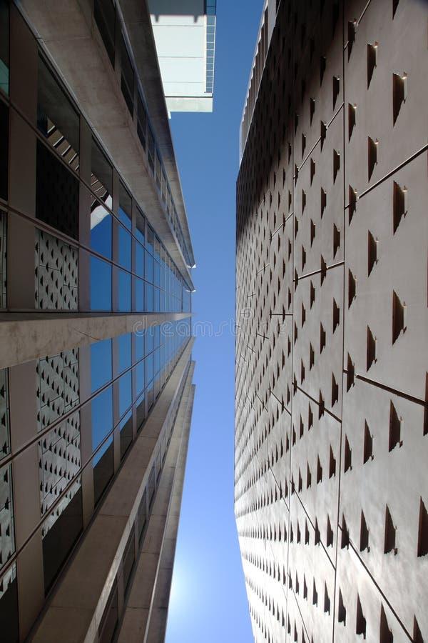 Corporate headquarters city royalty free stock photo