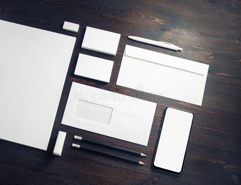 Corporate ID-Vorlage lizenzfreie stockbilder