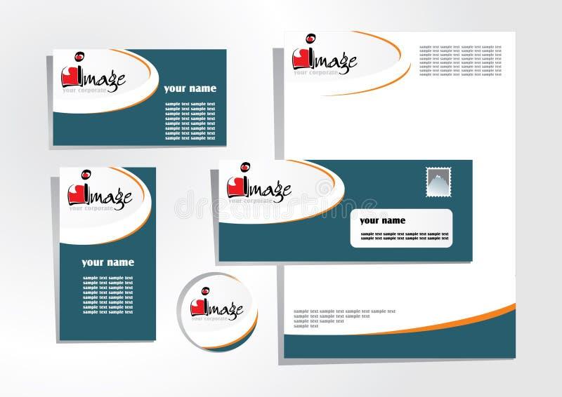 Download Corporate identity 1 stock vector. Illustration of logotype - 6011742