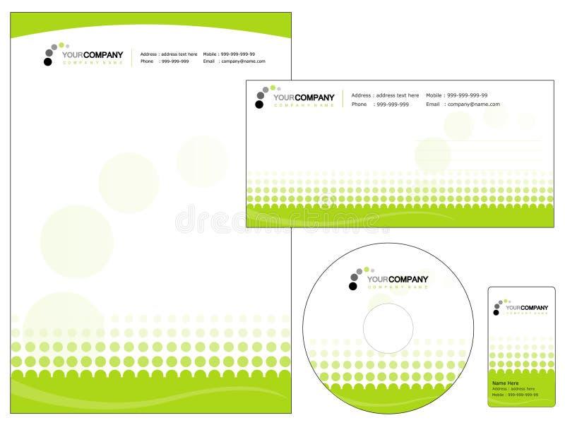 Corporate identity vector illustration