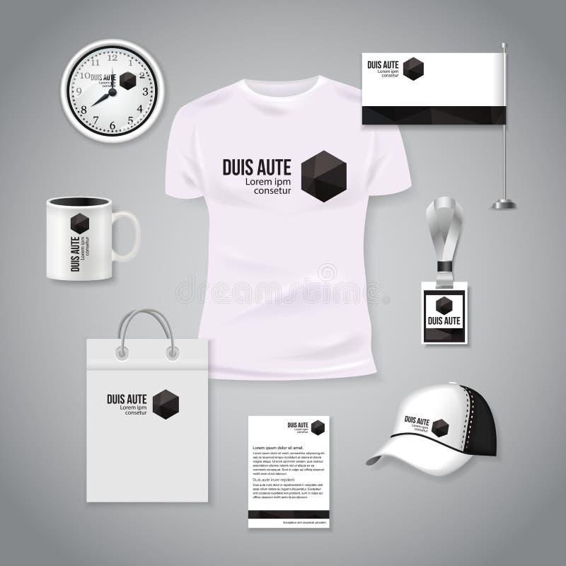 Corporate Identity Business Photorealistic Design Template ...