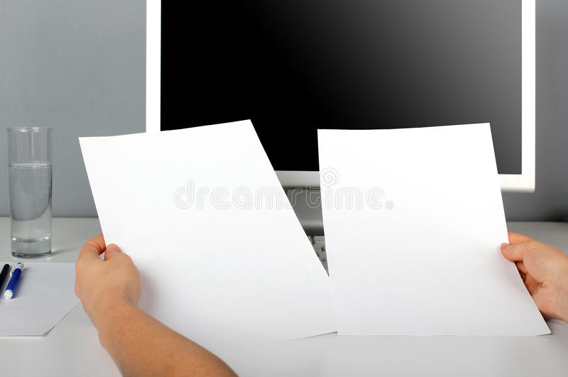 Corporate identity royalty free stock photo