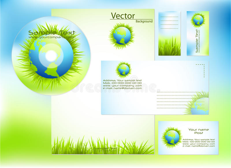 Download Corporate Identity Template Stock Photos - Image: 16076263