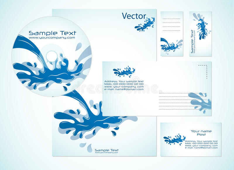 Download Corporate Identity Template Stock Vector - Image: 16089322
