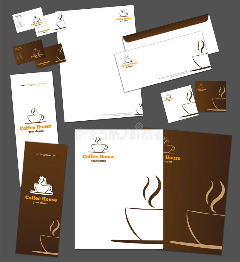 Download Corporate Identity Template Stock Vector - Image: 27059457