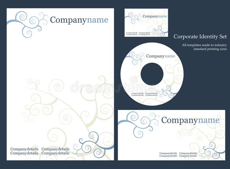 Download Corporate Identity Template. Stock Photos - Image: 6268723