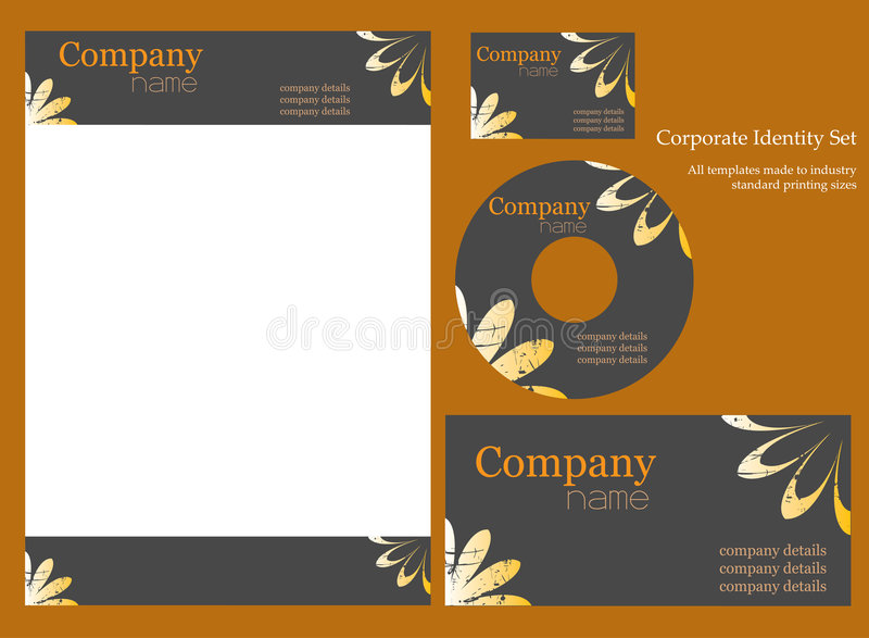 Download Corporate Identity Template. Stock Vector - Image: 6269312