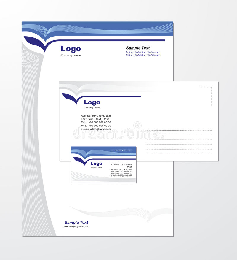 Download Corporate Identity Template Vector 3 Stock Vector - Image: 5376073