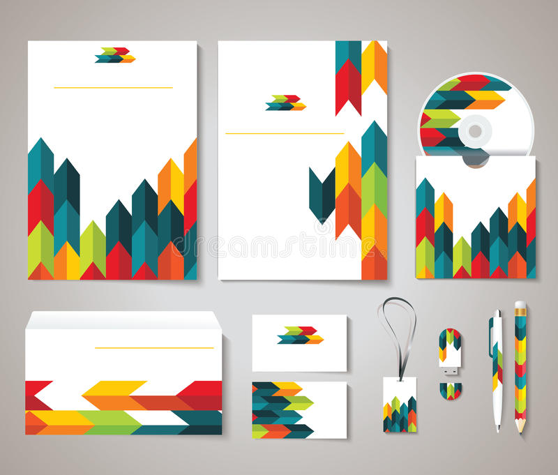 Corporate identity templates with abstract design stock illustration download corporate identity templates with abstract design stock illustration illustration of card booklet reheart Gallery