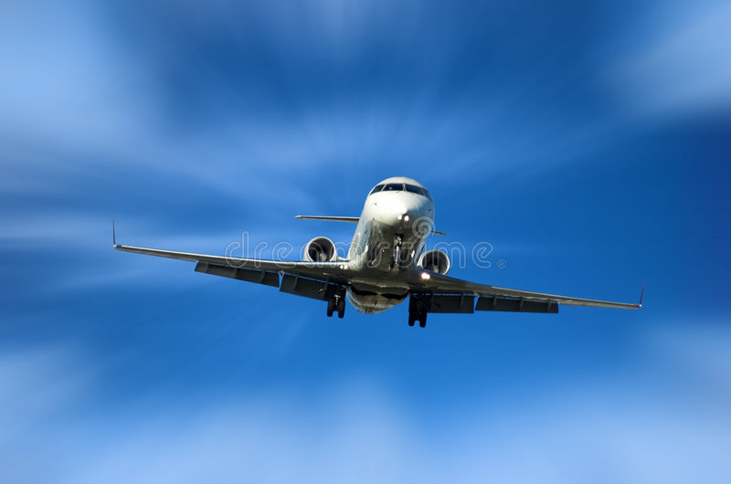 Corporate Jet stock image