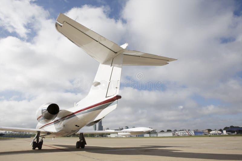 Corporate Jet stock image
