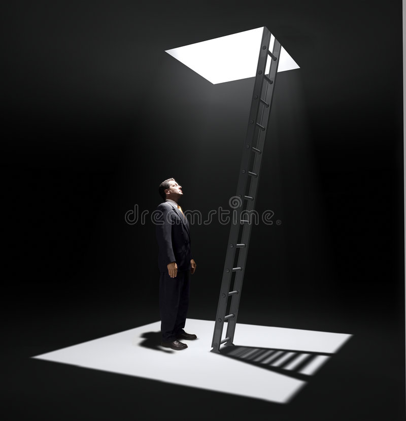 Download Corporate Ladder stock photo. Image of inhuman, concepts - 2997534