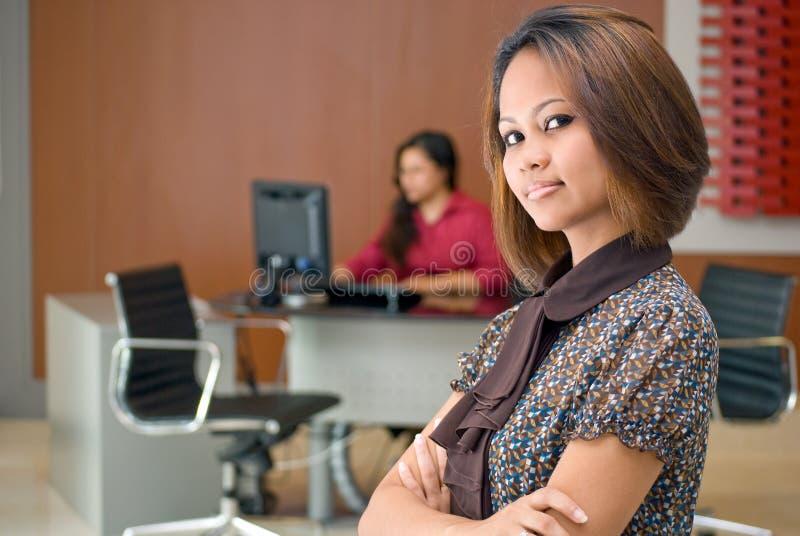 Corporate ladies stock photo