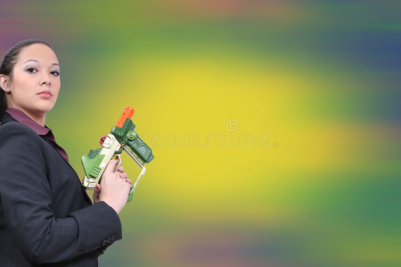 Corporate Laser Tag 03 royalty free stock photos