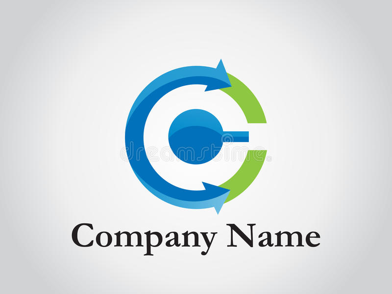 Corporate logo. This image is a illustration of corporate logo