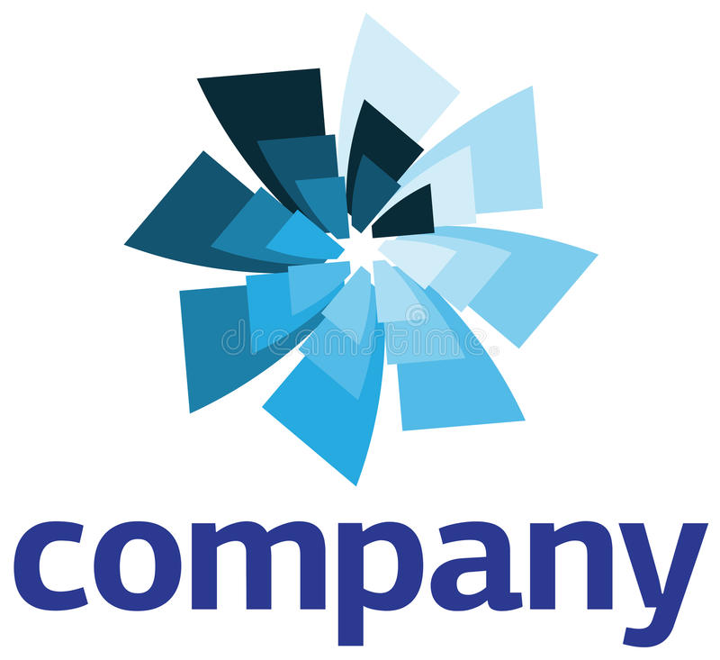 Corporate Logo Design Template stock illustration