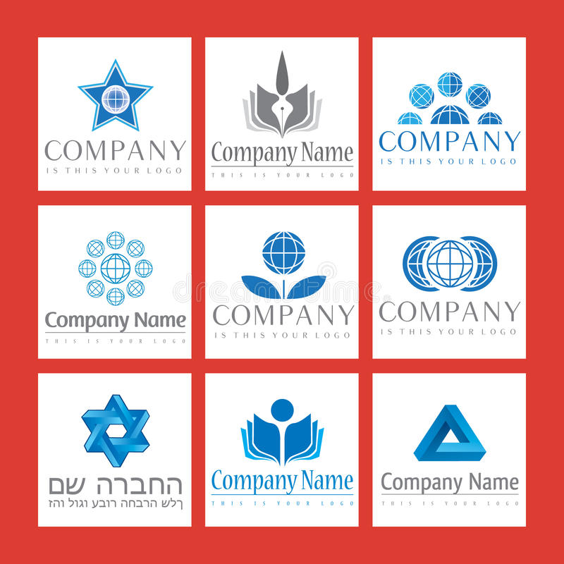 Download Corporate Logos stock vector. Illustration of illustration - 14055901