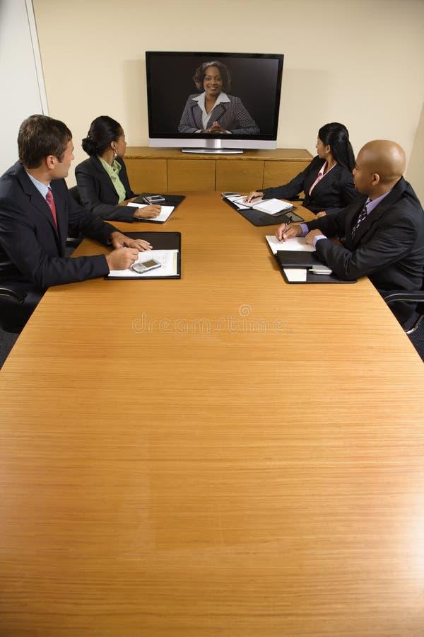 Corporate meeting. stock photo