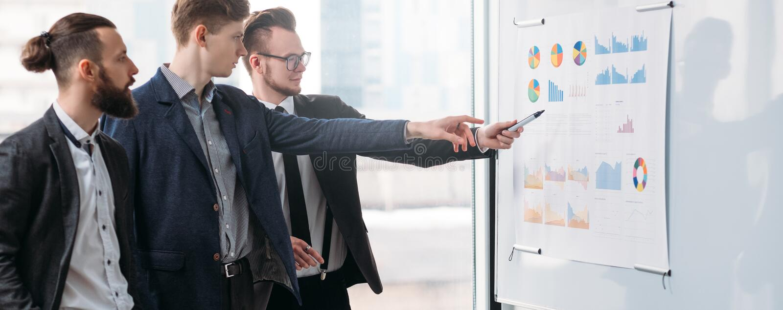 Corporate meeting business strategy planning stock photography