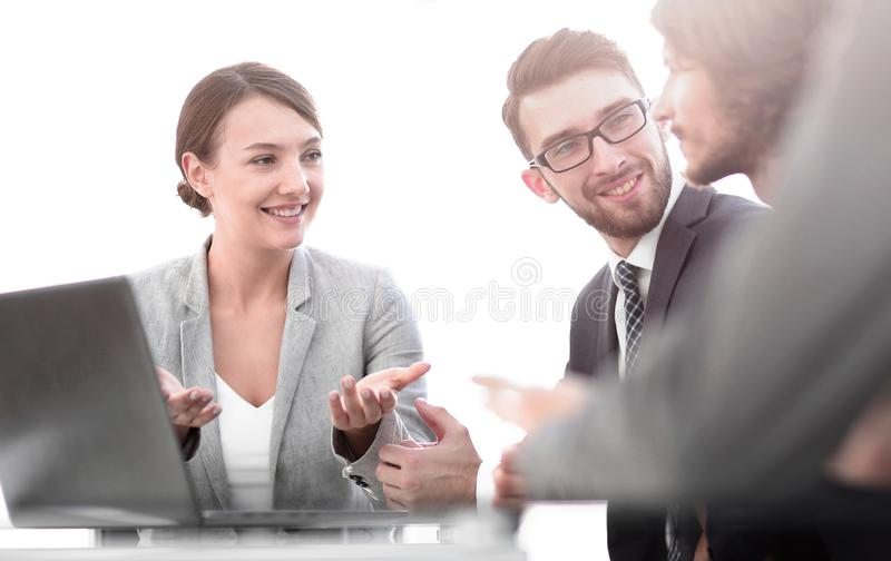 Corporate meetings business group. Photo with copy space royalty free stock image