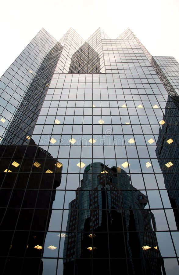 Free Corporate Office Building With Reflection Stock Images - 1590204
