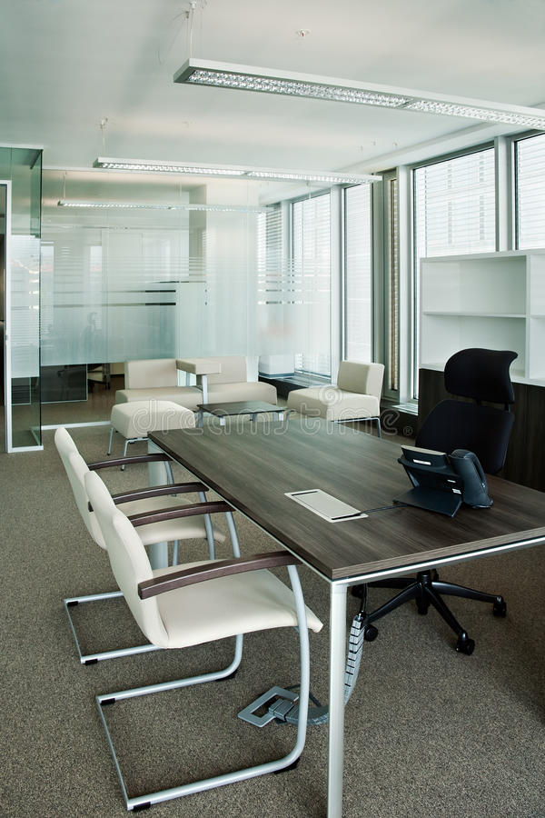 Corporate office view stock photography
