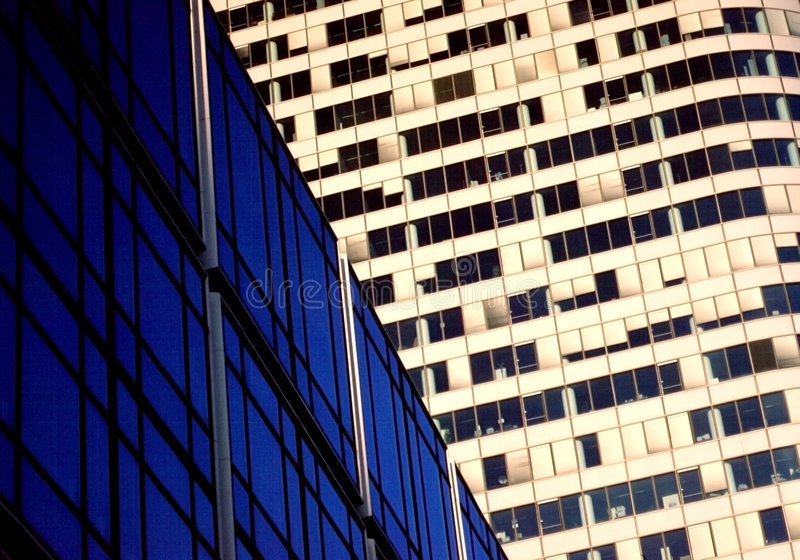 Download Corporate offices stock photo. Image of france, blue, buildings - 164220