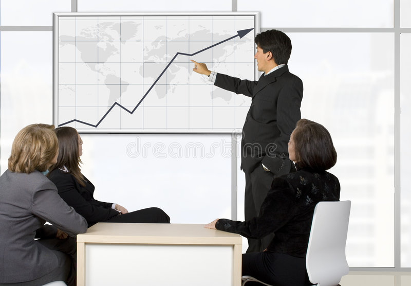 Download Corporate Online Trainning - Man Presenting Stock Photo - Image of buildings, presentation: 478418