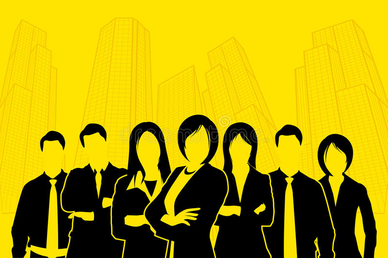 Corporate People Royalty Free Stock Photography