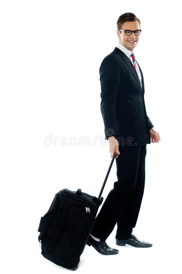 Download Corporate Person Leaving For Business Meeting Stock Photo - Image: 23732524
