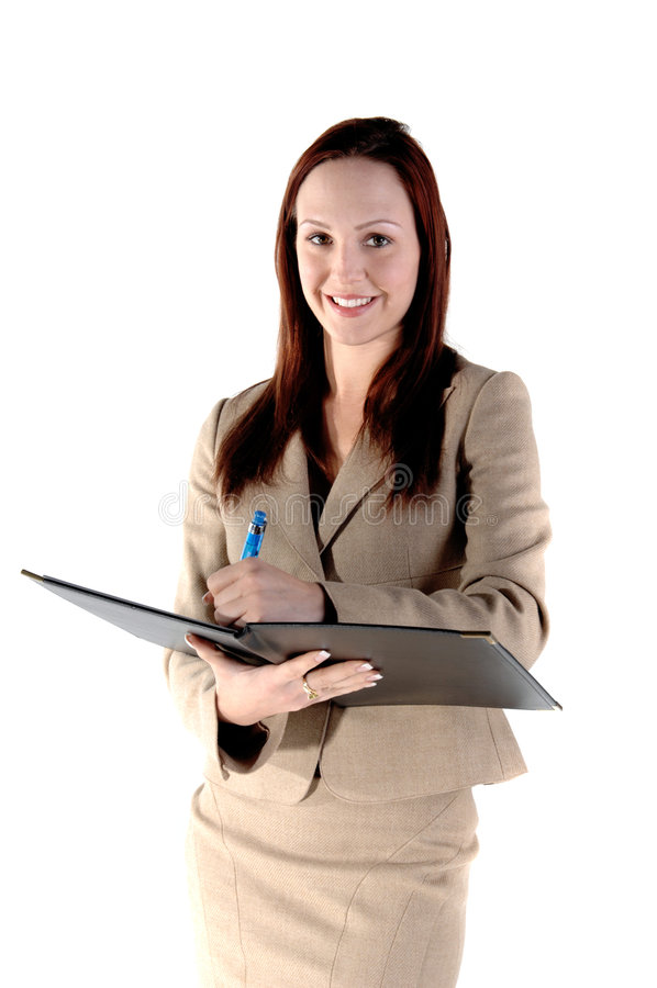 Download Corporate Review stock photo. Image of businesswoman, executive - 4360646