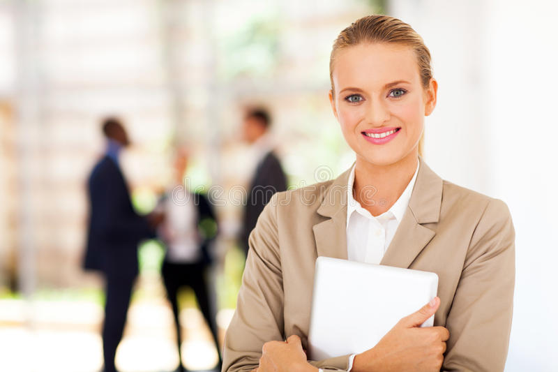 Download Corporate tablet computer stock photo. Image of colleagues - 29147030
