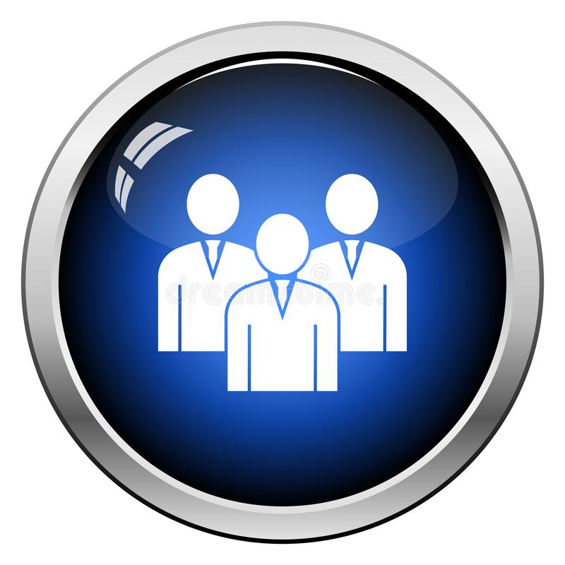 Corporate Team Icon royalty free illustration
