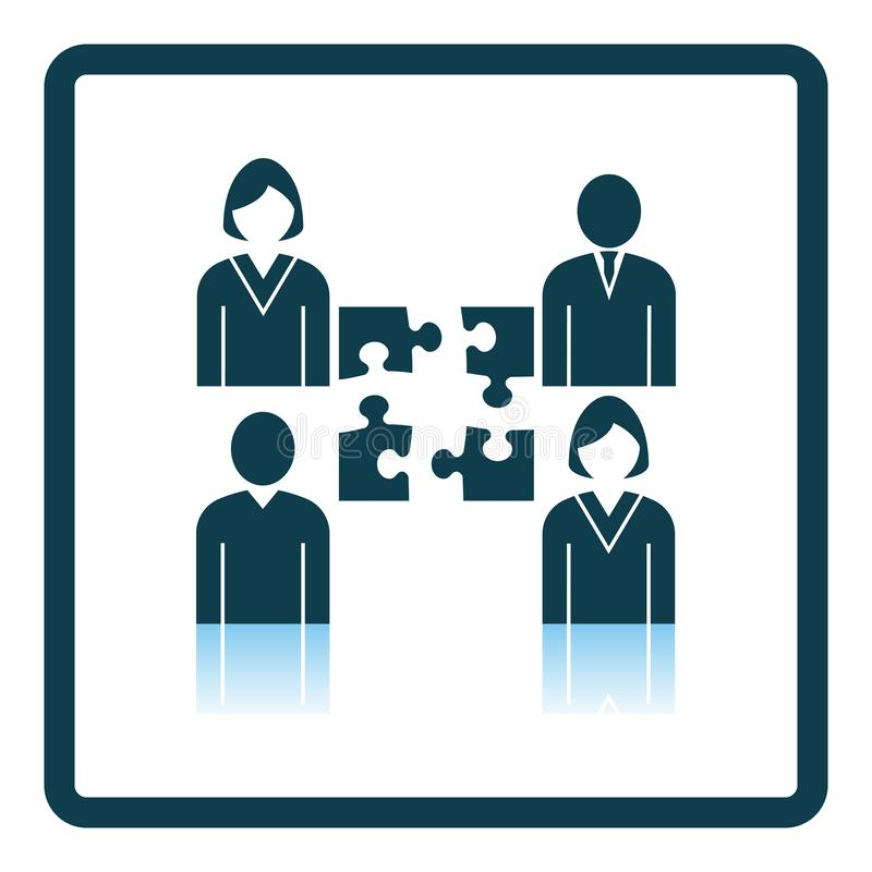 Corporate Team Icon stock illustration