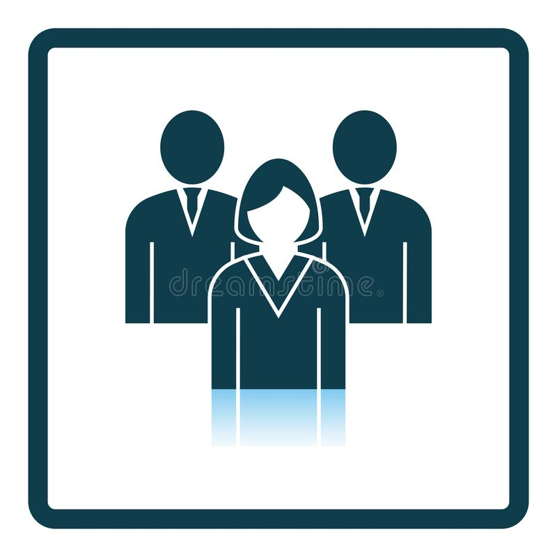 Corporate Team Icon vector illustration