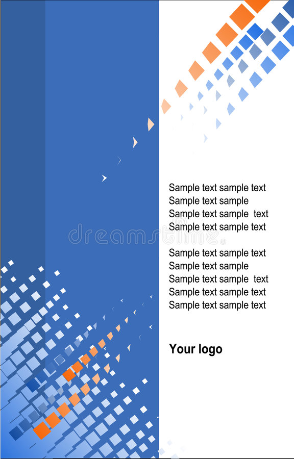 Corporate template background. Vector file stock illustration