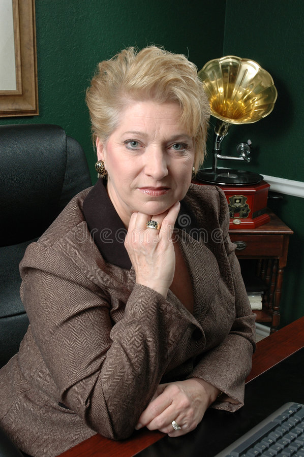 Download Corporate Woman stock photo. Image of chair, eyes, business - 513614